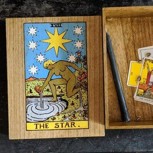 The Star Large Wooden Box